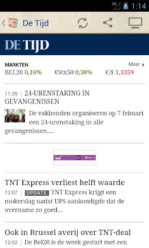 België Kranten