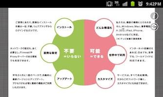 Screenshot of V-CUBE Seminar Mobile
