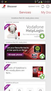 Vodafone Discover screenshot 2