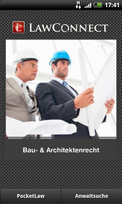 Bau- & Architektenrecht- screenshot