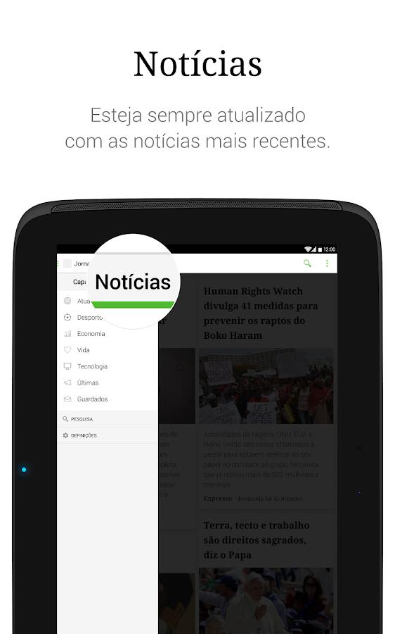 SAPO Jornais- screenshot