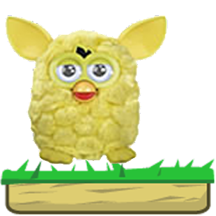 Furby Jump Yellow