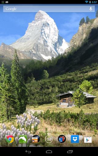 山の夏の無料壁紙