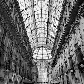 Shopping in Milan by Lauren Carroll - Buildings & Architecture Architectural Detail ( milan, detail, shopping, stunning, italy,  )