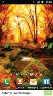 Autumn Live Wallpaper- screenshot thumbnail