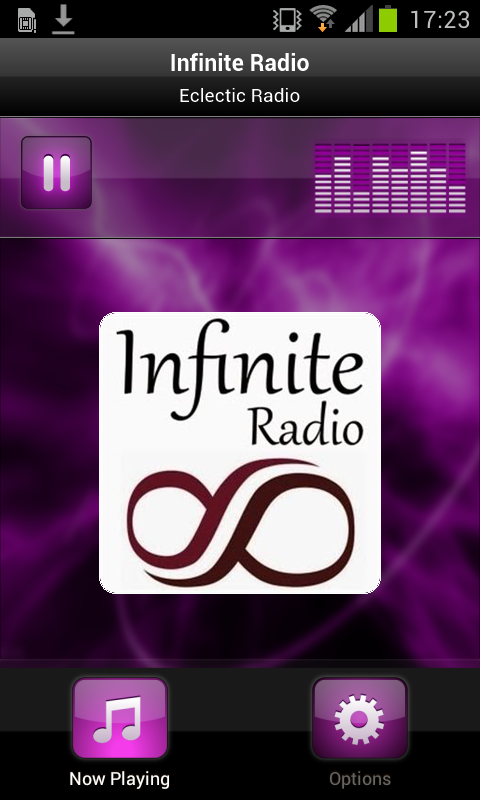 Infinite Radio- screenshot