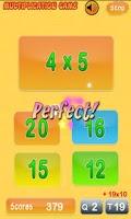 Screenshot of Multiplication Genius