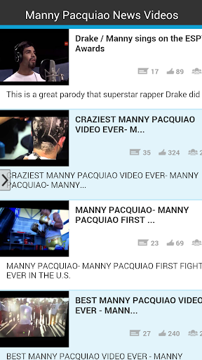 Manny Pacquiao News Videos