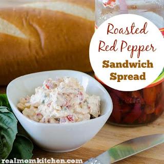 Roasted Red Pepper Sandwich Spread
