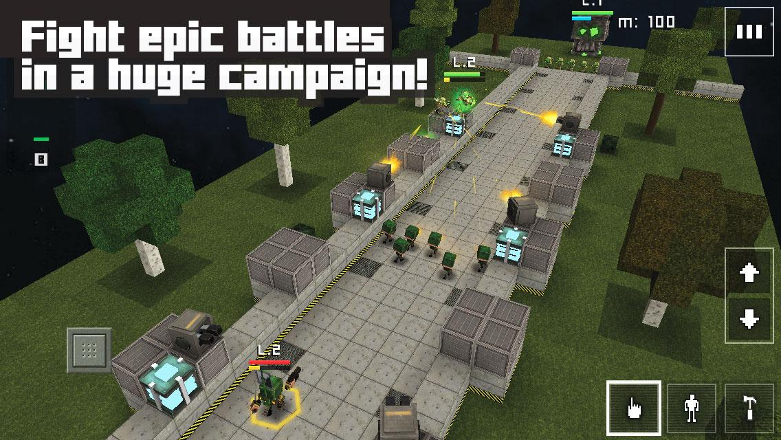Block Fortress: War- screenshot