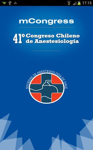 XLI Congreso de Anestesiología