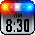 Police Car Alarm Clock icon