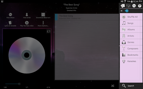 Music Player (Remix) - Trial - screenshot thumbnail