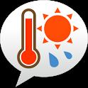 熱中症アラート - お天気ナビゲータ icon
