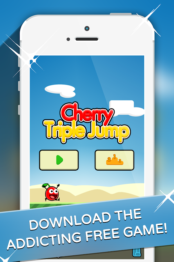 Cherry Triple Jump n Run- screenshot