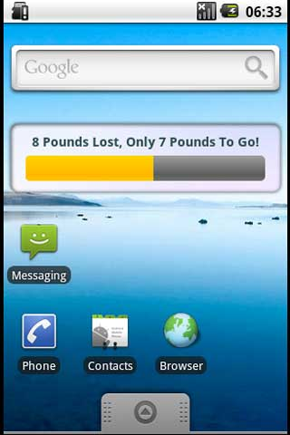 Simple Weight Loss Resolution - screenshot