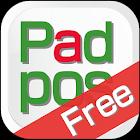 【無料】POSレジアプリ 「Padpos Free」 icon