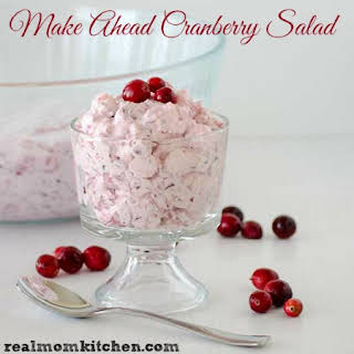 Make Ahead Cranberry Salad.
