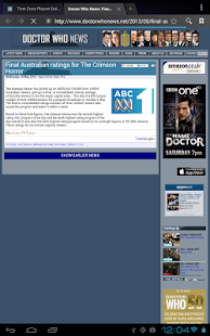 Doctor Who WhoNews- screenshot thumbnail