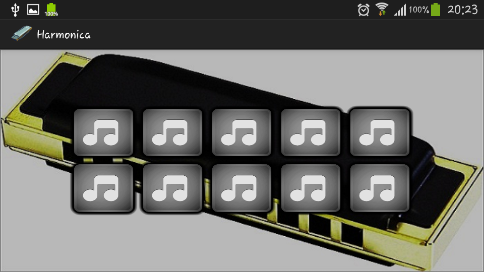 Virtual Harmonica - screenshot
