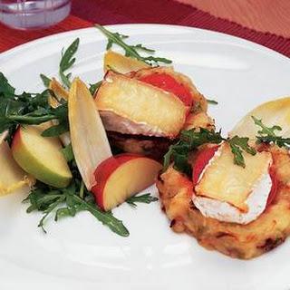Aardappel-koolkoekjes Met Camembert