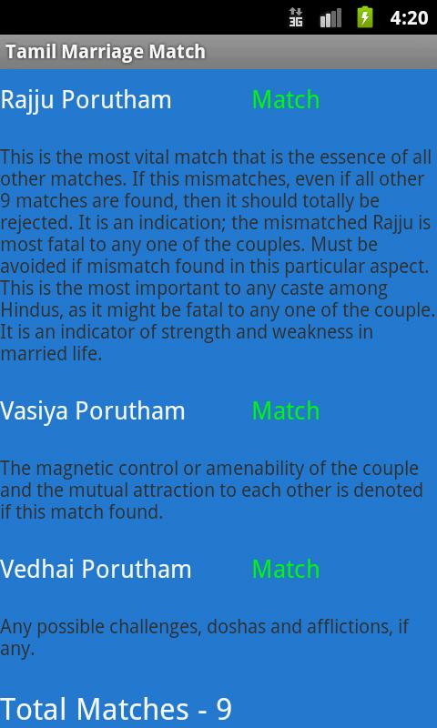 Hindu Marriage Match - screenshot