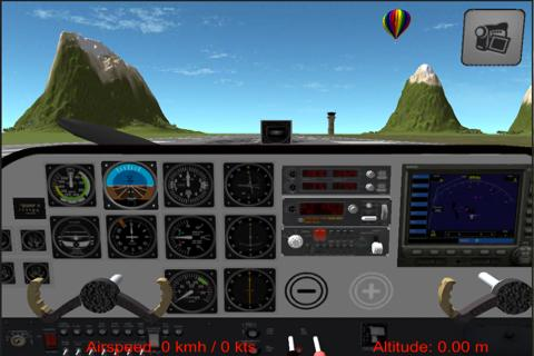 Flight Simulator Cezna 172 - screenshot