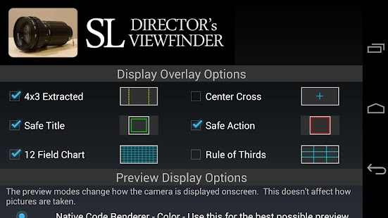 SL Director's Viewfinder- screenshot thumbnail