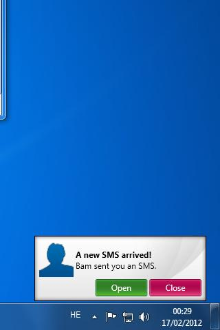 SMS From PC - Lite- screenshot