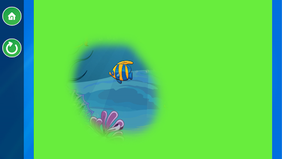 Ocean Fish Scratch & Color  for kids & toddlers 🐬- screenshot thumbnail