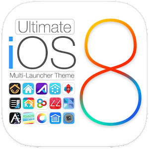 Ultimate iOS8 Launcher Theme
