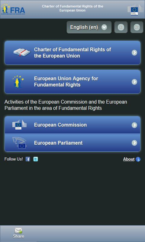 EU Charter- screenshot