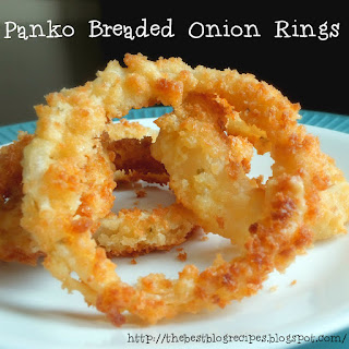 Panko Breaded Onion Rings.