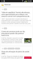 Screenshot of Saúde AMS