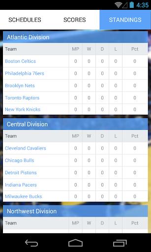 【免費運動App】Live Basketball Scores-APP點子