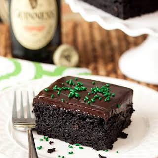 Guinness Chocolate Cake.