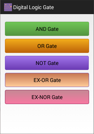 Digital Logic Gate
