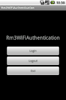 Screenshot of Rm3WiFiAuthentication