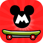 Mickey skater