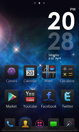 FREE Andy GO Launcher Theme