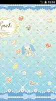 Screenshot of ジュエルペット公式ライブ壁紙☆サフィー☆