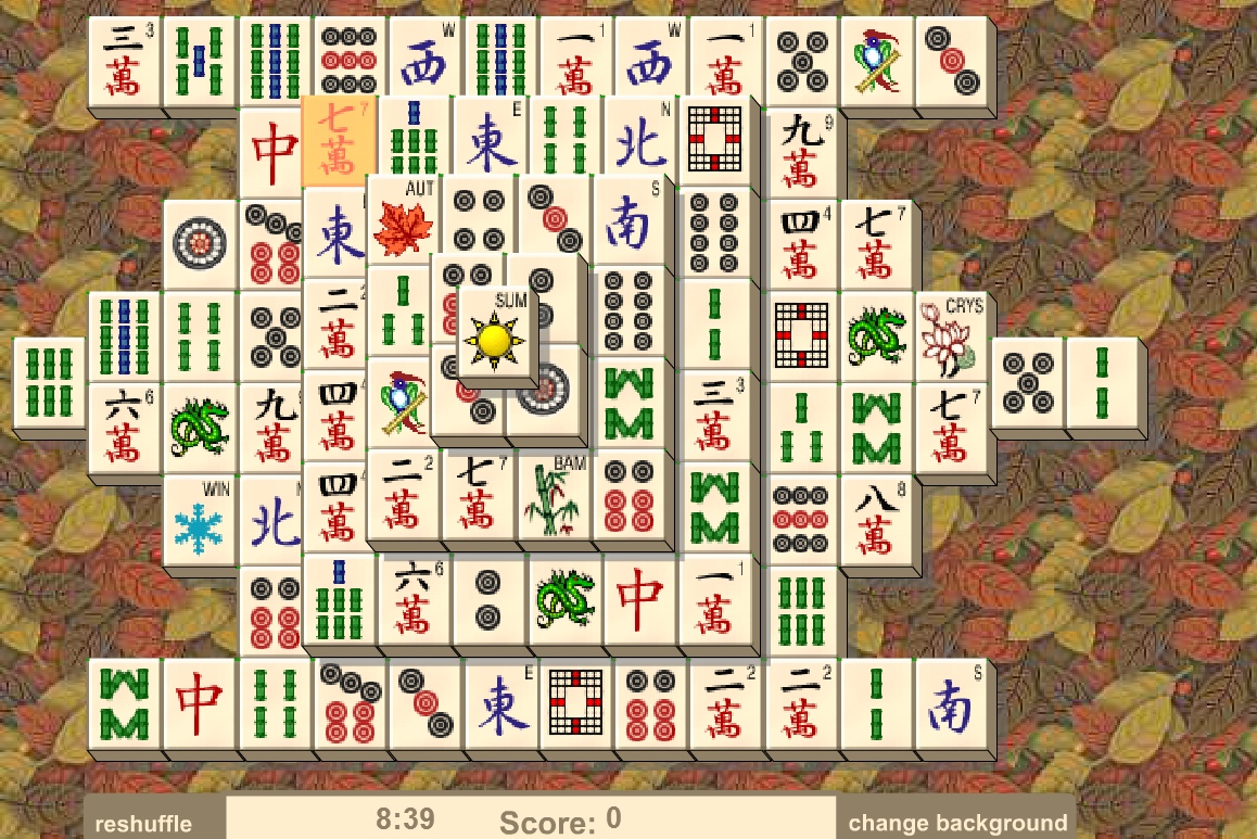 mahjong free solitaire