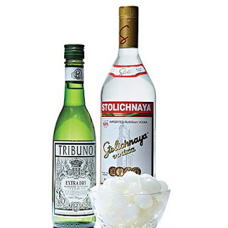 Vodka Gibson