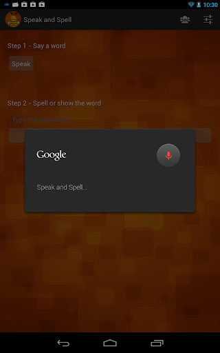 Download Speak and Spell Google Play softwares