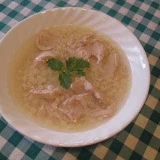 Grandma chicken soup (Canja)