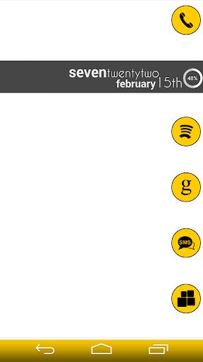 VM5 Yellow Icon Set