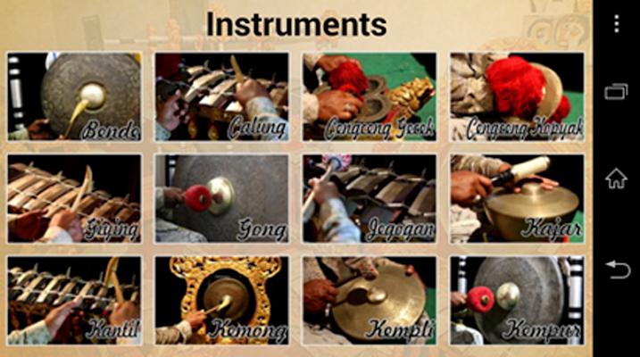 Balinese Music: Gong Kebyar - screenshot