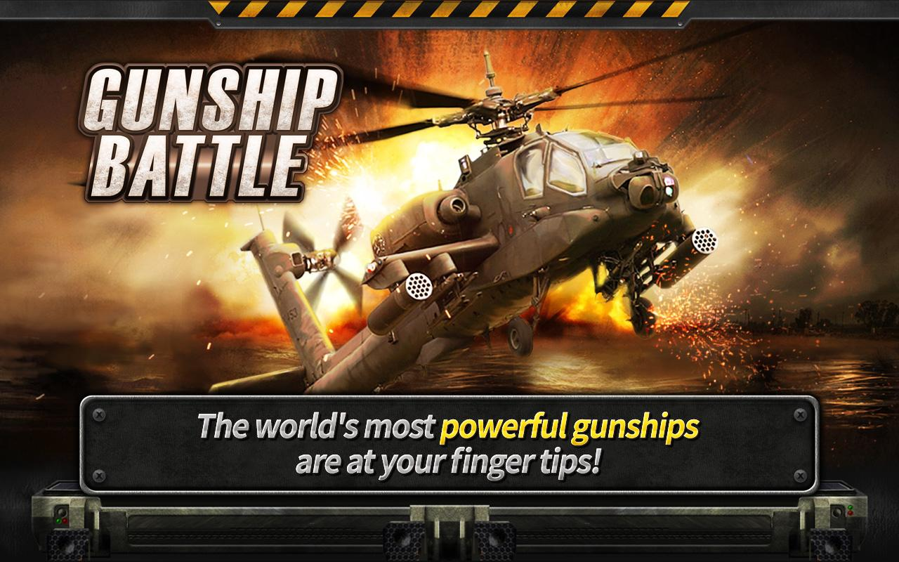 GUNSHIP BATTLE : Helicopter 3D v2.2.4.3 Mod [Free Shopping]
