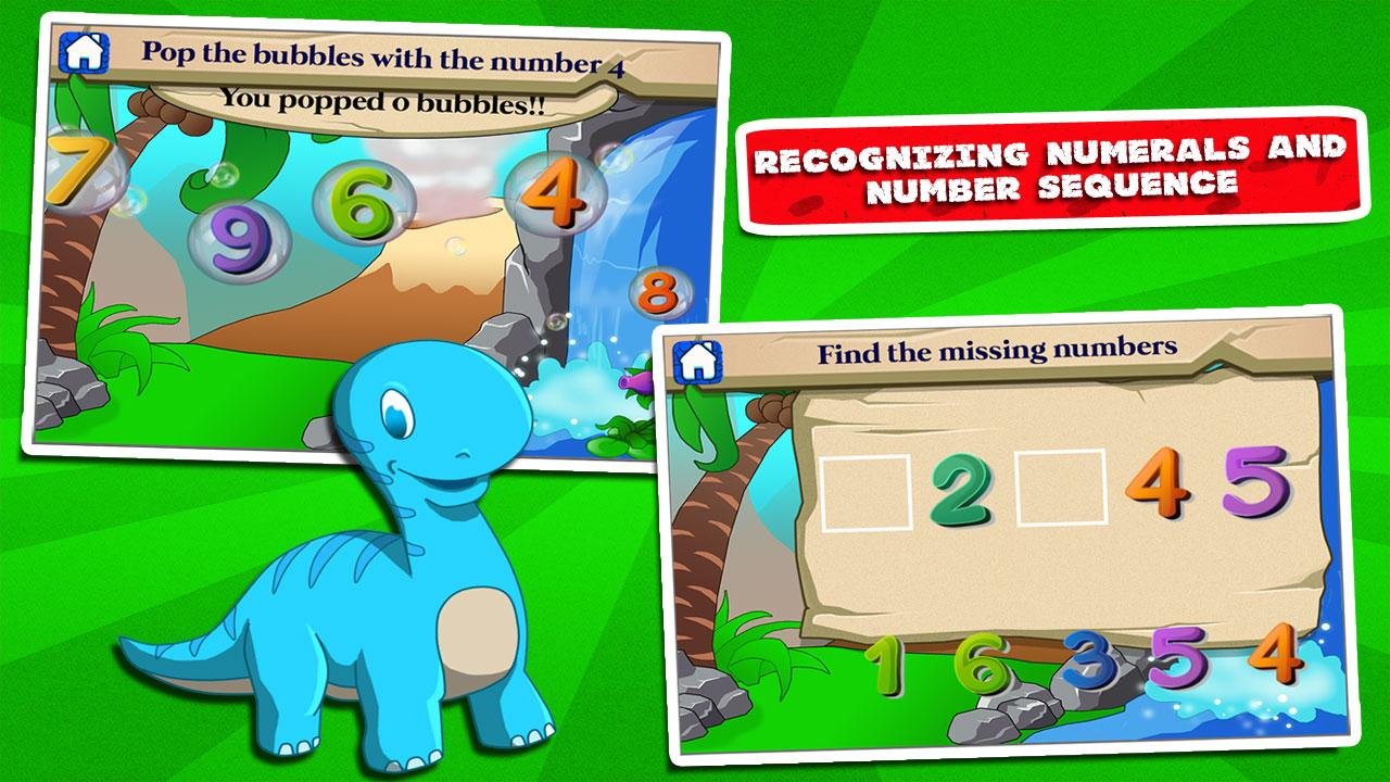 Dino Kindergarten Fun Games- screenshot