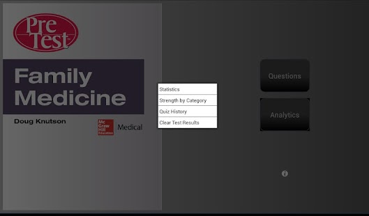 Family Medicine PreTest - screenshot thumbnail